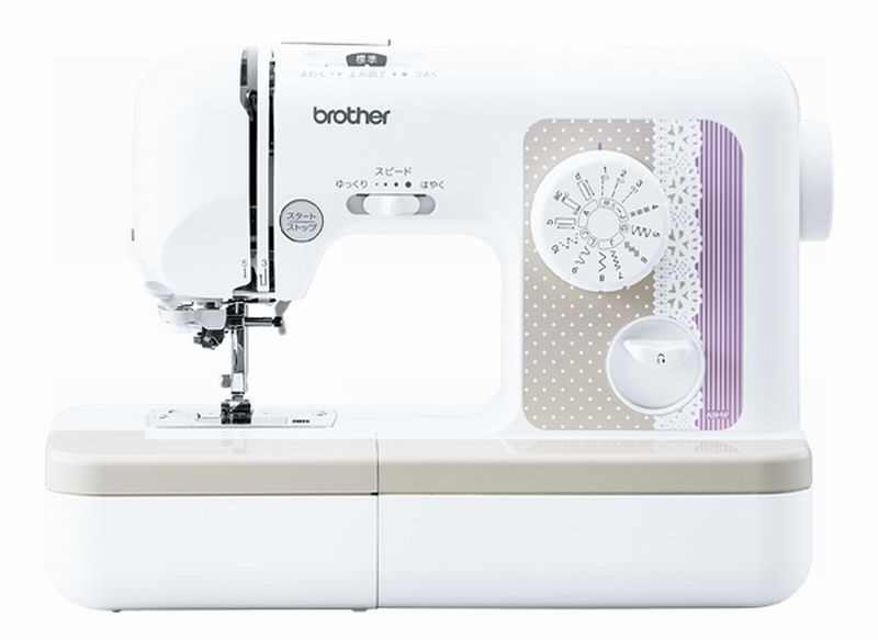Brother sewing machine PS-50 footcontroller other gorgeous set ( A 35-YF・A35-LG・S35-LB color ) ★ PS50 FC Bobby 10 pieces black and white set pre-☆