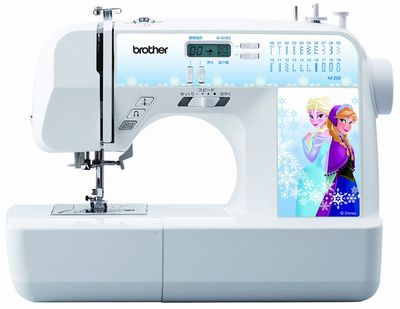 Sewing machine brother computerized sewing machine AF200 Ana and the snow Queen Ana snow Elsa PS202/PS203 and feature