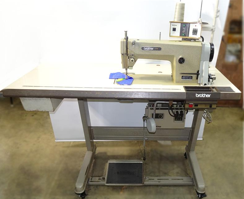H5578317 中古 brother ブラザー 400w E-2操作ボックス100vDCモーターMD-800A 未使用 1本針自動糸切ミシンモデルNO.DB2-B737-303 爆安