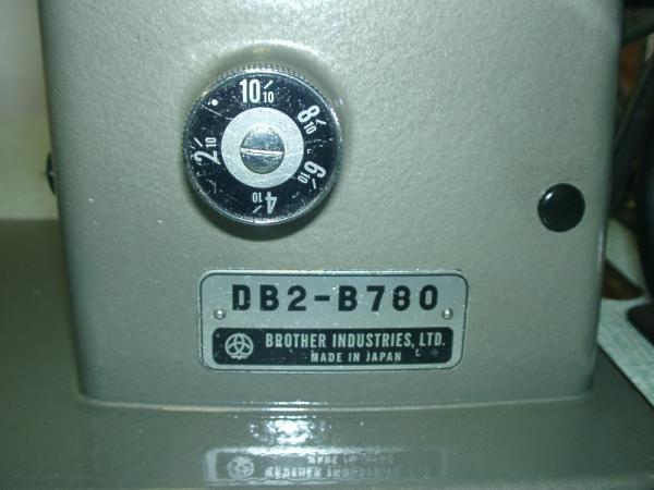 B0348667 中古 スーパーセール期間限定 ブラザー スーパーセール期間限定 BROTHER 1本針本縫いギャザ取りミシン 日本製 DB2-B780 頭部のみ