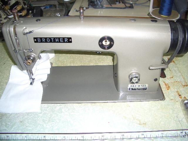 【中古】 ブラザー BROTHER DB2-B780 1本針本縫いギャザ取りミシン 頭部のみ
