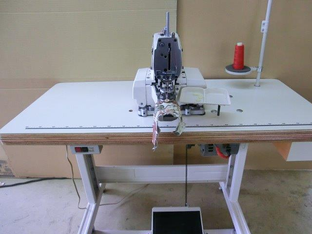 【新品】 SSM-373型 1本針1本糸ボタン付けミシン 頭部のみ