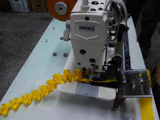 【新古品】1本針本縫いひだ取りミシン SSM-IDL-400型 頭部のみ。 JIAM