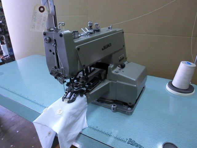 【中古】 ジューキ ボタン付けミシン モデルNO- MB-373型頭部のみ。