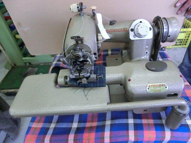 【中古】 ストローベル 奥まつり スクイ縫いミシン モデルNO-KI45-123型
