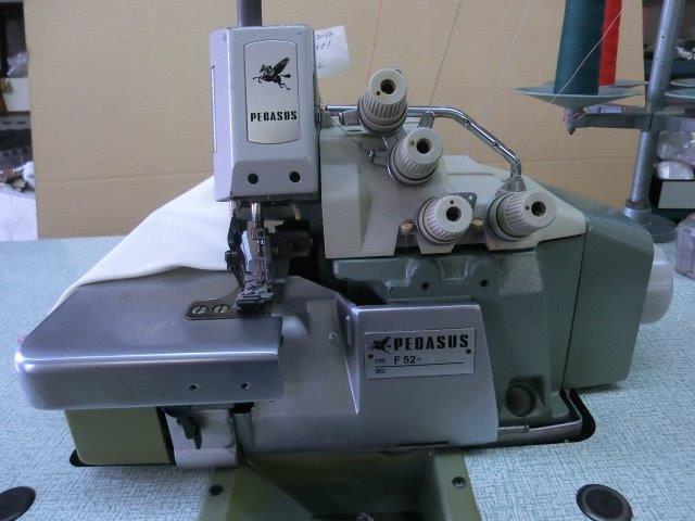 【中古】 ペガサス PEGASUS 2本針4本糸オーバーロックミシン モデルNO-F52-12型