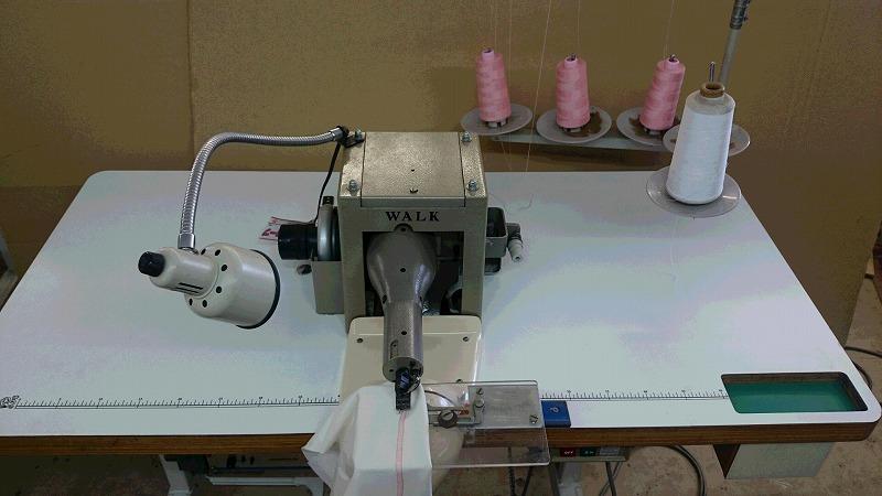 【中古】 ペガサスミシン(WALK) モデルNO-DV-1S型、逆筒型ミシン