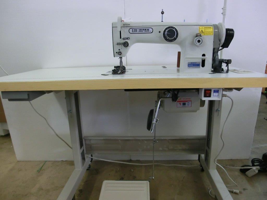 【新品】 1本針本縫い千鳥ミシン。モデルNO-SSM-D530型。 JIAM