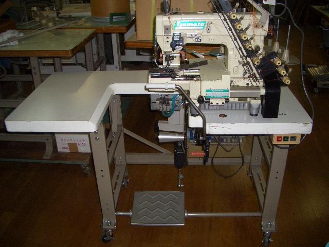 【中古】 ヤマトミシン モデルNO-VC-2840P-254-X02B-UT-A50型
