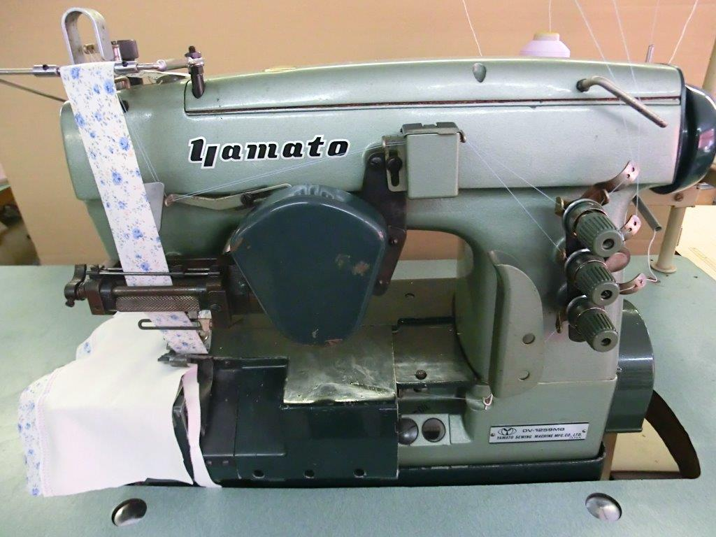 【中古】 ヤマト レース付けミシン モデルNO- DV-1259型