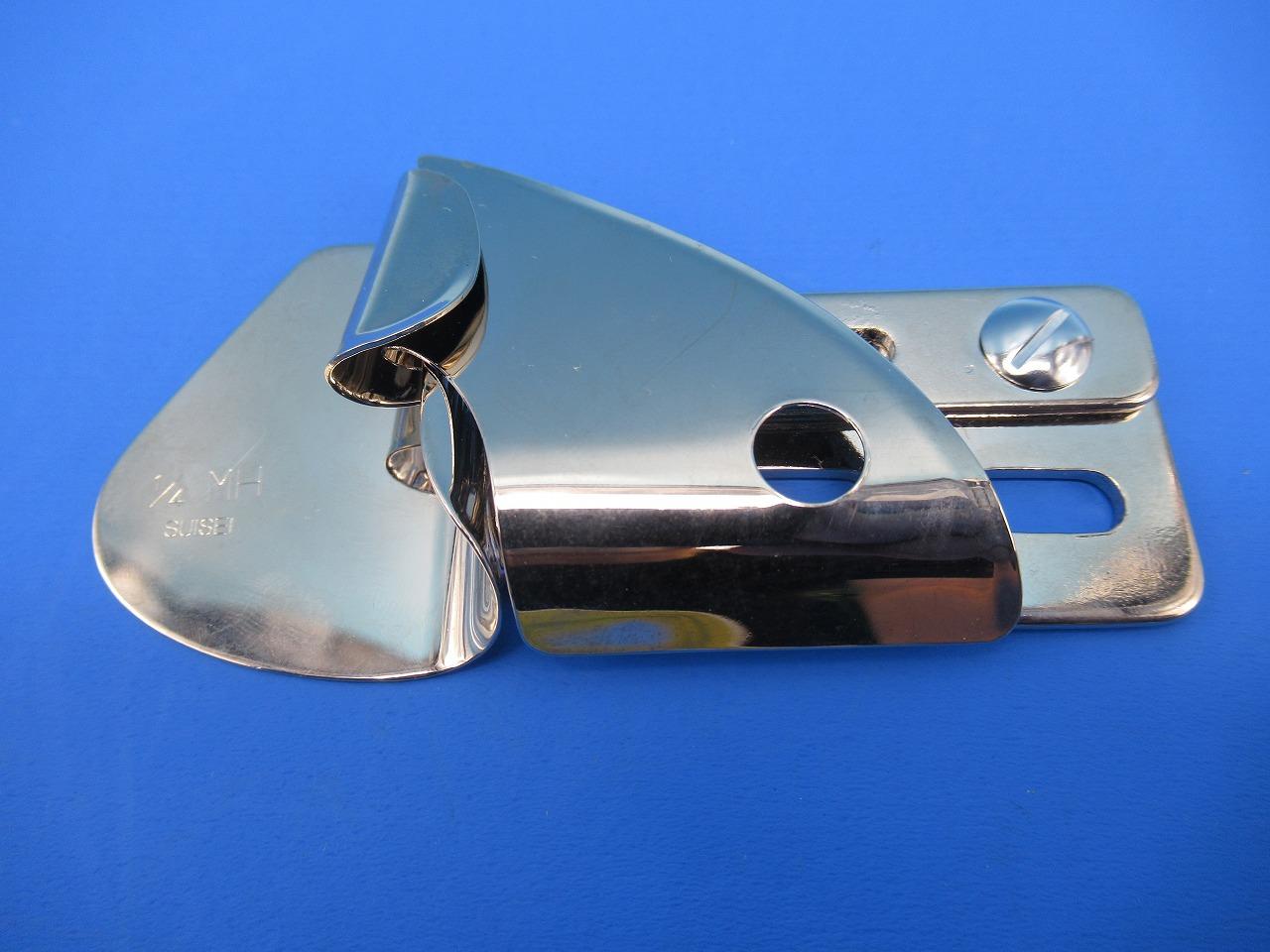 日本製スイセイ A34仕上がり幅6.4mm生地厚 中厚地 大注目 訳あり品送料無料 2 253型 3本針2重環縫いミシン用 147