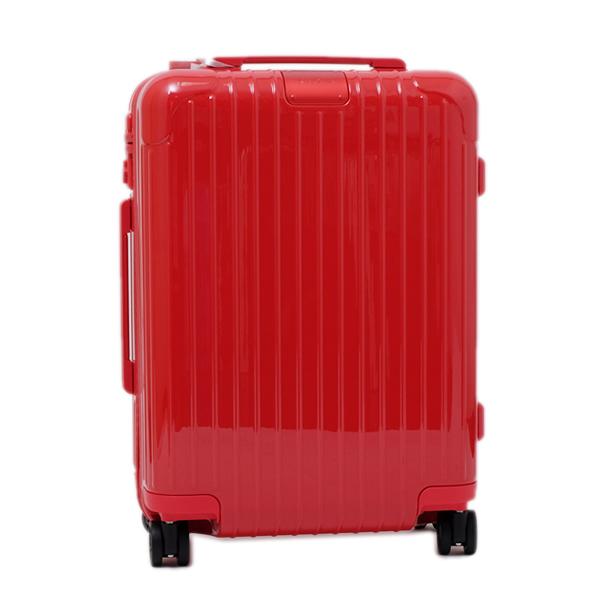リモワ RIMOWA エッセンシャル キャビン ESSENTIAL CABIN S キャリーオン 4輪 スーツケース レッド 34L(3~4泊向け) 機内持込可 [メンズ] [レディース] 83252654