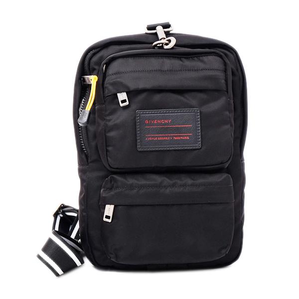 ジバンシー GIVENCHY UT3 SLING BAG ナイロン ボディバッグ スリングバッグ バッグ ブラック [メンズ] BK501FK08E 001
