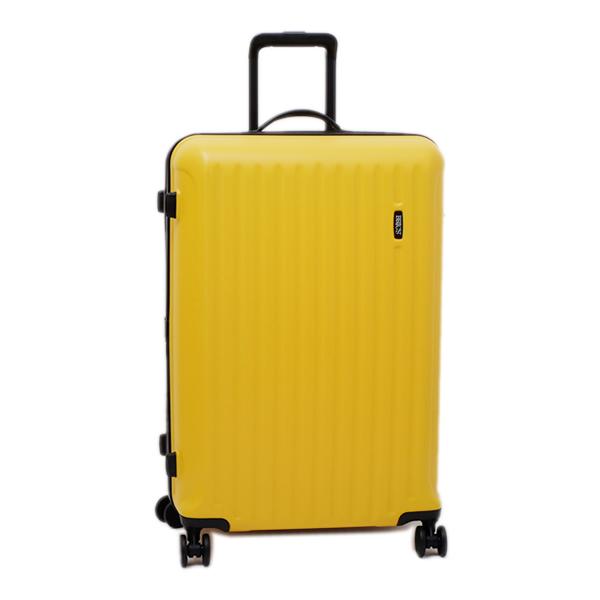 ブリックス BRIC'S RICCIONE TROLLEY 軽量 キャリーケース 4輪 スーツケース 74L(5~7泊向け) イエロー [メンズ] [レディース] BRE18031 024