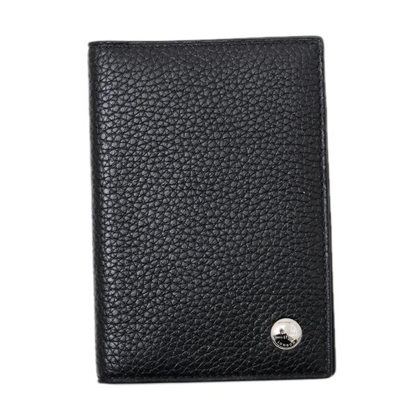 ダンヒル DUNHILL ボストン BOSTON グレインレザー カードケース ブラック [メンズ] L2W347A