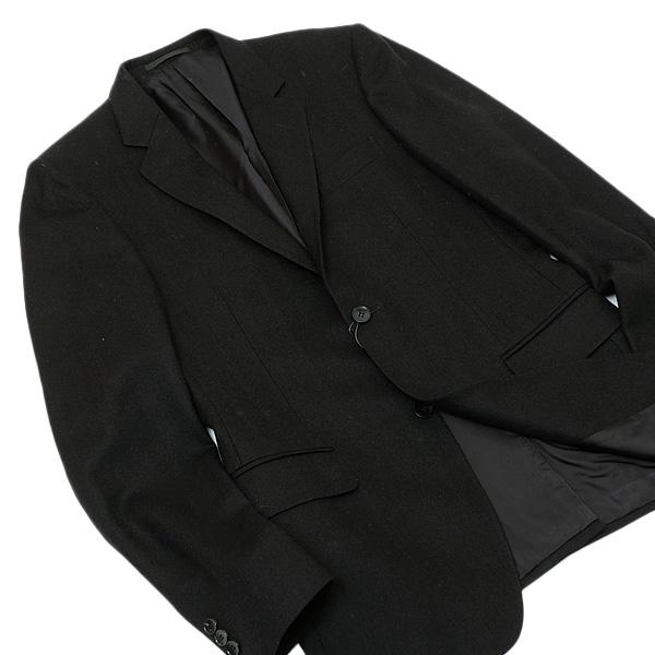 【サイズ46】グッチ GUCCI ウール 2釦 ジャケット ブラック [メンズ] 252026 Z6542 1000