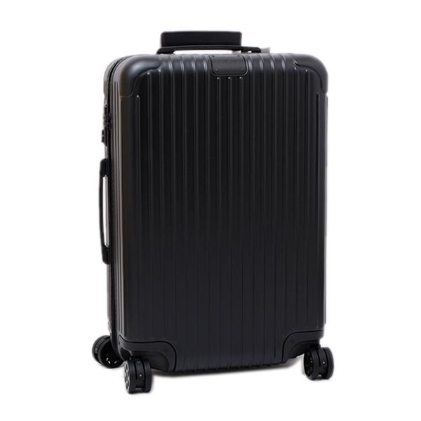 リモワ RIMOWA エッセンシャル ESSENTIAL CHECK IN M キャリーオン 4輪 スーツケース マットブラック 63L(3泊~5泊向け) [メンズ] [レディース] 83263634
