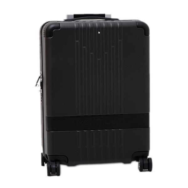 モンブラン MONTBLANC キャビン トローリー 4輪 キャリー スーツケース ブラック 37L(3~4泊向け) 機内持込可 [メンズ] 118727【MBPT】