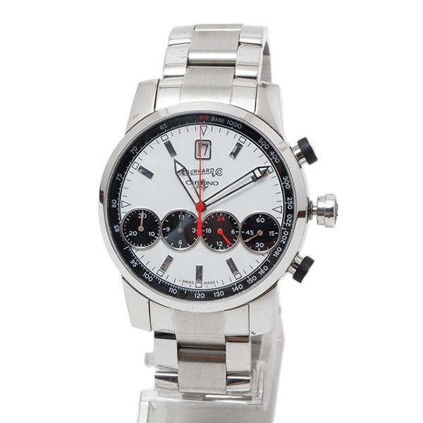 エベラール EBERHARD クロノ4 グランタイユ オートマティック クロノグラフ 腕時計 シルバー [メンズ] 31052CA
