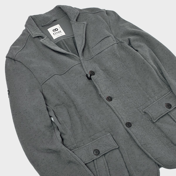 【サイズL】ファイバー Fiver ジャケット ブルゾン グレー系 [メンズ] G50362 A6 340【通常価格23,100円→SALE価格10,490円】