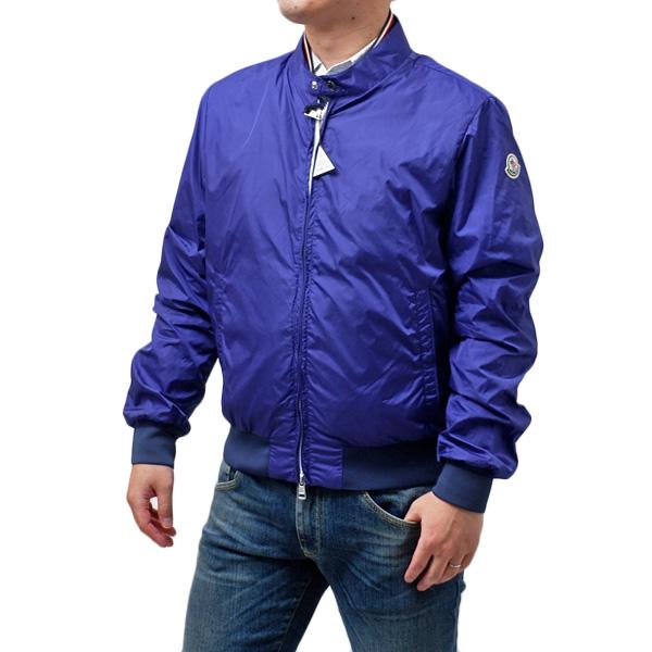 【サイズ2】モンクレール MONCLER MIROIR ナイロン ジャケット ブルゾン ブルー [メンズ] 4061405 68352 758