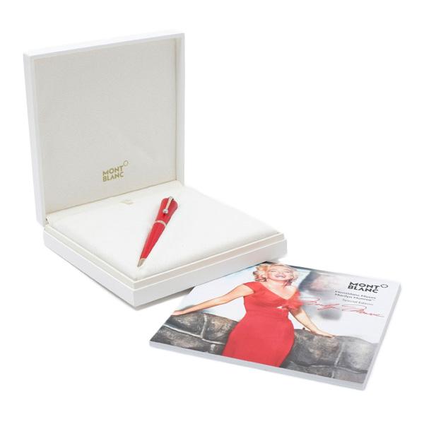 モンブラン MONTBLANC Muses ミューズ Marilyn Monroe マリリン・モンロー Special Edition ボールペン 筆記具 116067