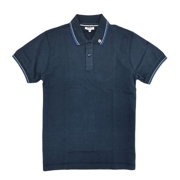 ウンガロ ungaro コットン 半袖 ポロシャツ ネイビー [メンズ] KMPOL16MW103UM 15