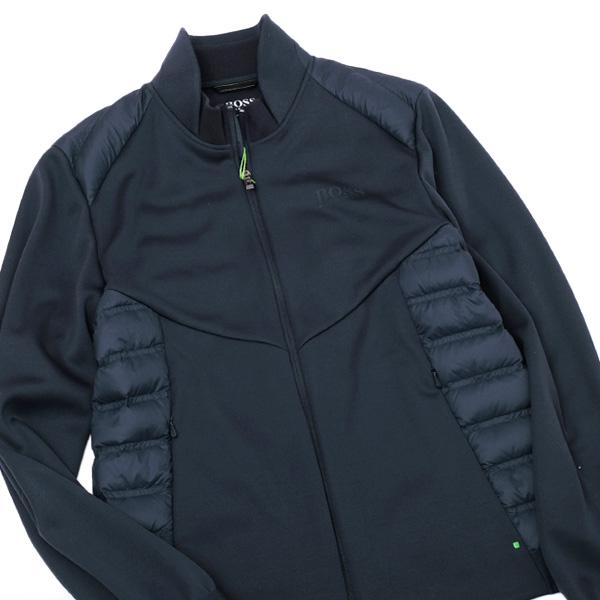 ヒューゴボス HUGO BOSS JALMSTAD PRO1 SLIM FIT ジップアップ 長袖 ジャケット ネイビー系 [メンズ] 50392588 410