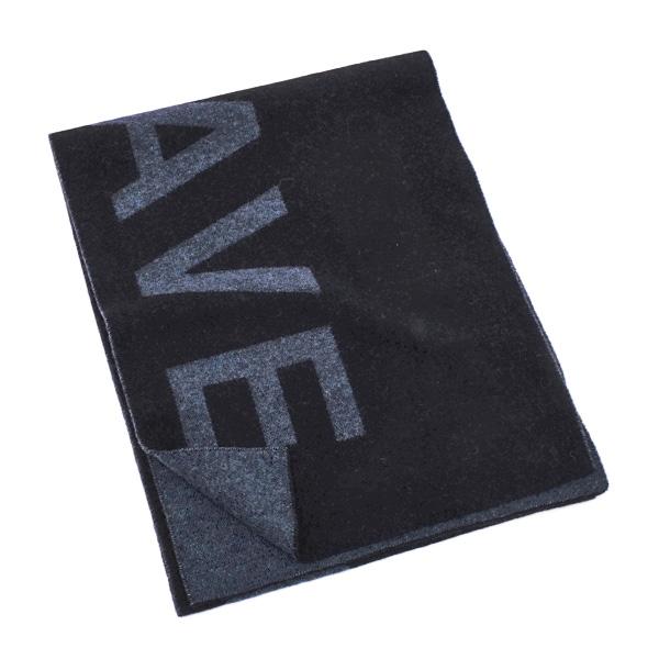 あす楽 ディーゼル DIESEL マフラー 売店 送料無料 S-ONLYTHEBRAVE SCIAR ウール メンズ 0LASW ナイロン 00SKYJ 900 ブラック×ネイビー L22 おトク