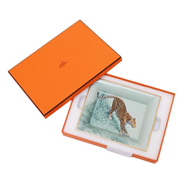 エルメス HERMES カルネドエクアトゥール 赤道直下のスケッチ 小物入れ 置物 灰皿 アッシュトレー 陶器 038090