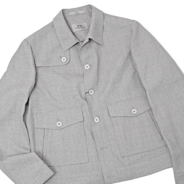 【サイズ50】コルネリアーニ コレクション CC COLLECTION71 CORNELIANI ウール ジャケット グレー [メンズ] 63306 LA37 GRAY