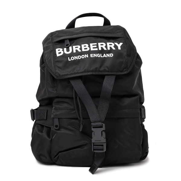 バーバリー BURBERRY ナイロン バックパック リュックサック バッグ ブラック [レディース] 8014130 BLACK 【○D14】