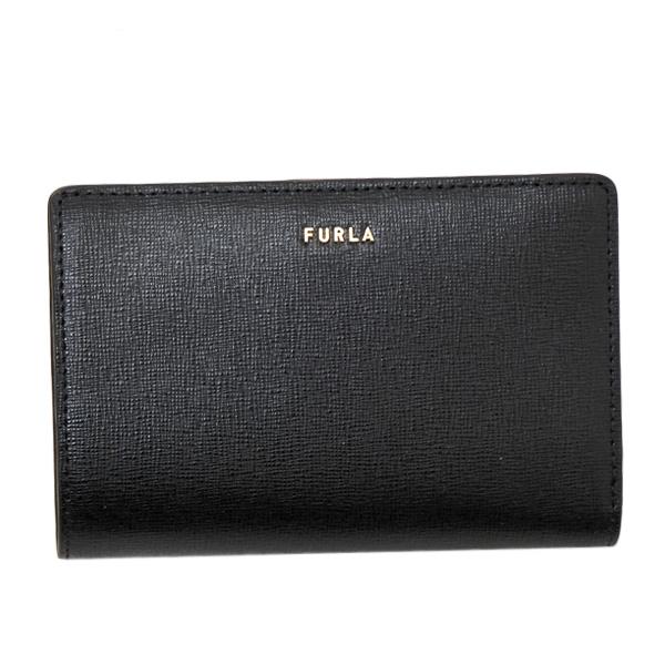 フルラ FURLA BABYLON M BI-FOLD レザー ウォレット 折財布 ブラック [レディース] PCY5 B30 O60 NERO 1057023