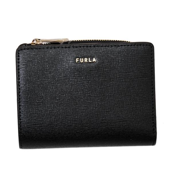 フルラ FURLA BABYLON S BI-FOLD レザー ウォレット 折財布 ブラック [レディース] PCY7 B30 O60 NERO 1056995
