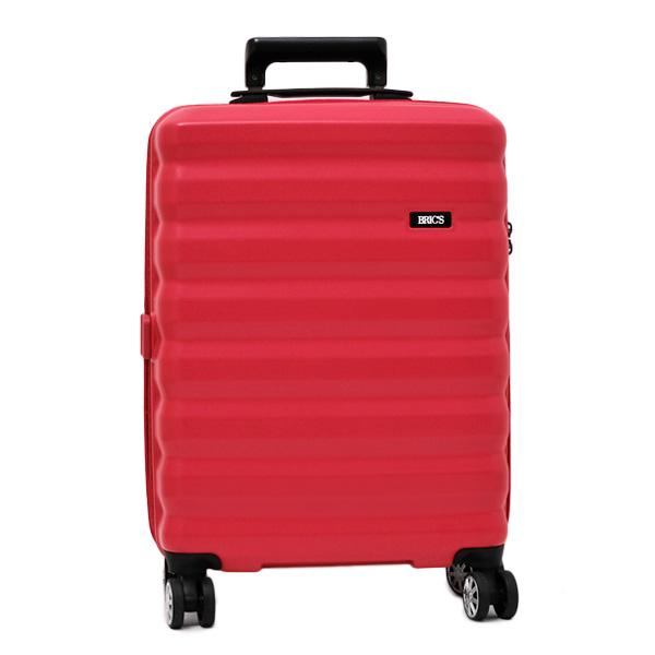 ブリックス BRIC'S RIMINI TROLLEY 軽量 キャリーケース 4輪 スーツケース 36L(2~3泊向け) 機内持込可 チェリー [レディース] BRJ06301 192 CHERRY