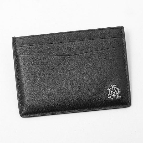 ダンヒル DUNHILL レザー カードケース ブラック DUL2XR40A
