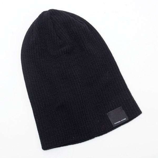 カナダグース CANADA GOOSE MERINO WOOL REVERSIBLE TOQUE メリノウール ニット 帽子 ネイビー [メンズ] 5341M 681