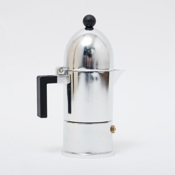 アレッシィ ALESSI ラ・クーポラ LA CUPOLA 直火式 エスプレッソコーヒーメーカー 1カップ用 70cc A9095/1 B