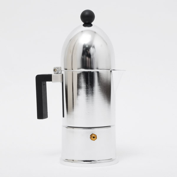 アレッシィ ALESSI ラ・クーポラ LA CUPOLA 直火式 エスプレッソコーヒーメーカー 3カップ用 150cc A9095/3 B