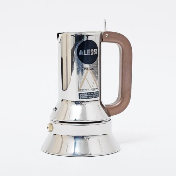 アレッシィ ALESSI リチャード・サパーデザイン 直火式 エスプレッソコーヒーメーカー 1カップ用 70cc 9090/1