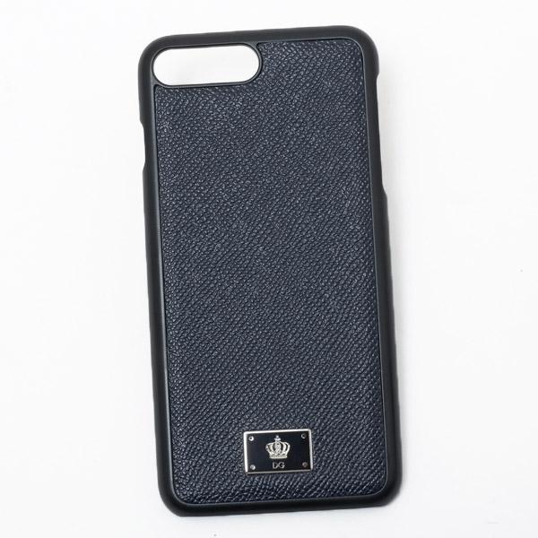 ドルチェ&ガッバーナ ドルガバ DOLCE&GABBANA iPhone7 plus用 スマホ ケース カバー ブラック系 BP2236 AC967 87741