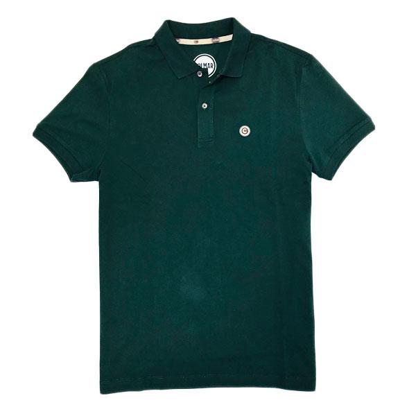 コルマー COLMAR イタリア製 コットン 半袖 ポロシャツ グリーン [メンズ] 7620 4SH 382