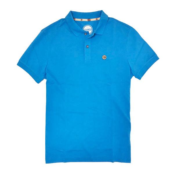 コルマー COLMAR イタリア製 コットン 半袖 ポロシャツ ライトブルー [メンズ] 7620 4SH 373