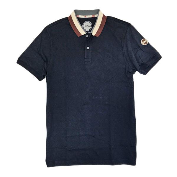 コルマー COLMAR コットン 半袖 ポロシャツ ネイビー [メンズ] 7627 3SV 68