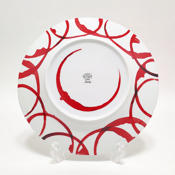 【お買い物マラソン】【17】リチャードジノリ Richard Ginori METROQUADRO メトロクアドロ 絵柄プレート お皿 26.5cm【正規品】