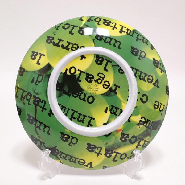 【お買い物マラソン】【3】リチャードジノリ Richard Ginori METROQUADRO メトロクアドロ 絵柄プレート お皿 20.5cm【正規品】