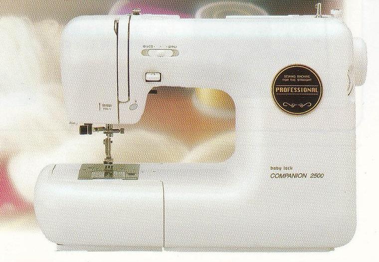 ミシン コンパニオン 2500(ジューキ ミシン)【送料無料】ベビーロック ミシン(baby-lock ミシン)≪フットコントローラー式 ミシン≫