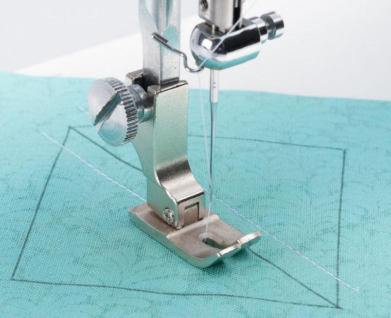 ジューキミシン(JUKI)職業用ミシンアタッチメント! JUKI職業用ミシン(ジューキ)TL・SL(シュプール)標準自由押え(7.0mm)【代引き決算不可】