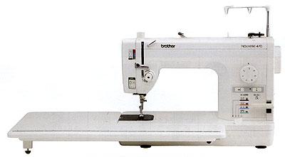 ブラザー職業用ポータブルミシン ヌーベル470型