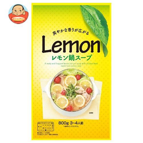 【送料無料】【2ケースセット】マルエ醤油 レモン鍋スープ 800g×12袋入×(2ケース) ※北海道・沖縄は別途送料が必要。